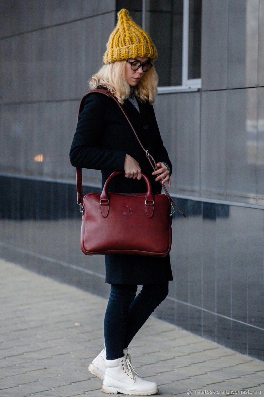 Leather Phoenix bag, Classic Bag, Volgograd,  Фото №1