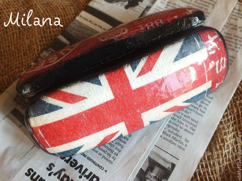 """Очешник """"На британский флаг)"""""""