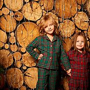 Работы для детей, handmade. Livemaster - original item Pajamas for boys or girls