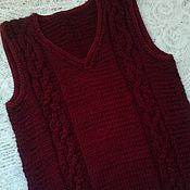 Vests handmade. Livemaster - original item Vest