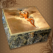 Подарки к праздникам handmade. Livemaster - original item Tea box for