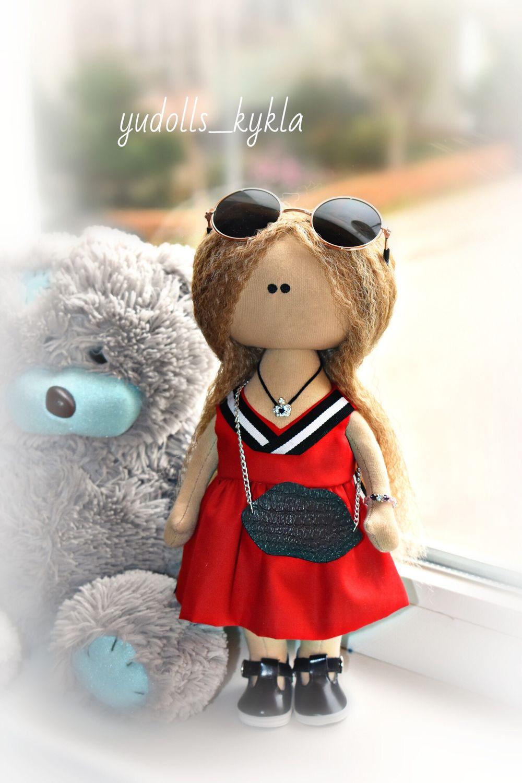 Текстильная куколка по фото, Тыквоголовка, Евпатория,  Фото №1