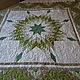 """Текстиль, ковры ручной работы. Ярмарка Мастеров - ручная работа. Купить Квилт """"LoneStar"""". Handmade. Зеленый, пэчворк, сатин премиум"""