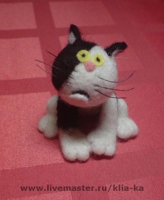 Animal Toys handmade. Livemaster - handmade. Buy Kuzia's cat..Cat
