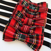 Аксессуары handmade. Livemaster - original item Tie Scottish history. Handmade.