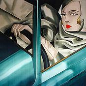 Аксессуары handmade. Livemaster - original item The handkerchief Lady behind the wheel. Handmade.