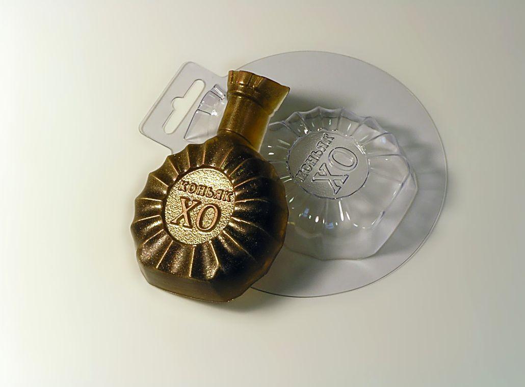 `Коньяк` форма для мыла пластиковая