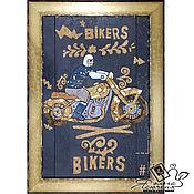 Картины и панно handmade. Livemaster - original item Copy of Copy of Panels made of cork «Classic Nautical Style». Handmade.