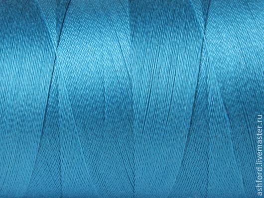 Другие виды рукоделия ручной работы. Ярмарка Мастеров - ручная работа. Купить Нитки для ткачества Хлопковые - бирюзовый.. Handmade. Бирюзовый