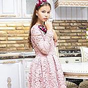 """Платье ручной работы. Ярмарка Мастеров - ручная работа Платье для девочки """"Кружевное"""". Handmade."""