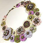 Украшения handmade. Livemaster - original item Pistachios in syrup. necklace. Handmade.