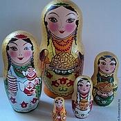 Русский стиль handmade. Livemaster - original item Matryoshka Tatar Tea?. Handmade.