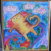 Подарки к праздникам ручной работы. Ярмарка Мастеров - ручная работа Влюбленный кот. Handmade.