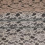 Материалы для творчества ручной работы. Ярмарка Мастеров - ручная работа кожа белое кружево. Handmade.