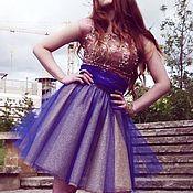 Одежда handmade. Livemaster - original item dress with fluffy skirt
