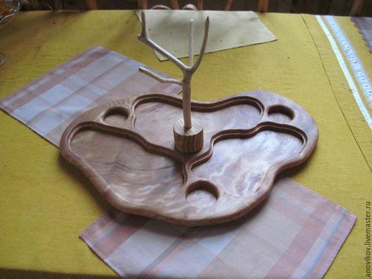 Кухня ручной работы. Ярмарка Мастеров - ручная работа. Купить Поднос для подачи горячего. Handmade. Желтый, поднос ручной работы