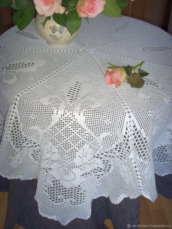 Tablecloth 'Roses', Tablecloths, Dresden,  Фото №1