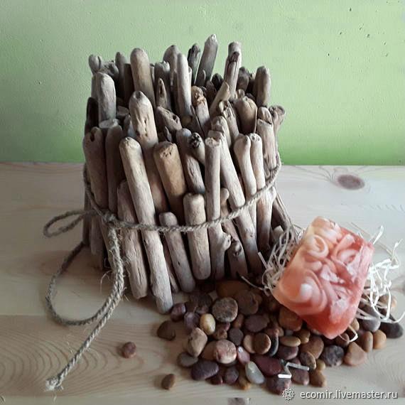 Набор Driftwood (дрифтвуд-арт) морские палочки 1кг, Природные материалы, Анапа,  Фото №1