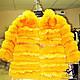 """Одежда для девочек, ручной работы. Ярмарка Мастеров - ручная работа. Купить Шубка детская из натурального песца """"Солнечная Зайка"""" одежда девочке. Handmade."""