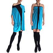 Одежда handmade. Livemaster - original item Dress, Beautiful dress, Dress-transformer