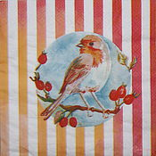 Материалы для творчества handmade. Livemaster - original item 10pcs napkin for decoupage bird Sparrow on a branch. Handmade.