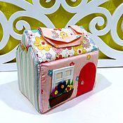 Куклы и игрушки ручной работы. Ярмарка Мастеров - ручная работа Домик-сумка для куклы. Handmade.