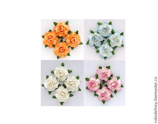 Цветы кудрявой розы в ассортименте