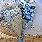 Для дома и интерьера ручной работы. Ярмарка Мастеров - ручная работа Текстильные сердечки в ассортименте. Handmade.