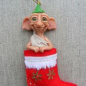 Куклы и игрушки ручной работы. Ярмарка Мастеров - ручная работа Merry Christmas!. Handmade.