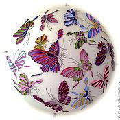 """Для дома и интерьера ручной работы. Ярмарка Мастеров - ручная работа Люстра """"Бабочки"""" №1. Handmade."""