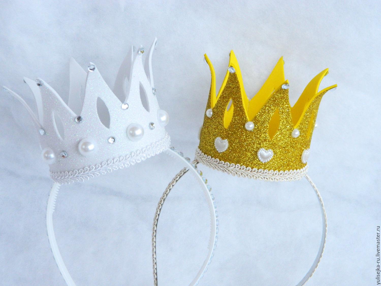 ободок с короной своими руками фото прихожей