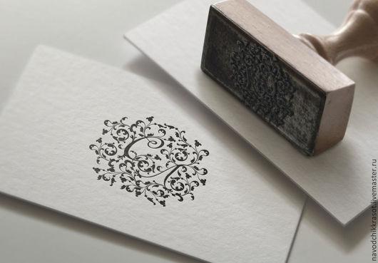 Визитки ручной работы. Ярмарка Мастеров - ручная работа. Купить Логотип, вензель для мастера с инициалами СЛ или ЛС. Handmade.