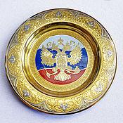 Посуда handmade. Livemaster - original item Souvenir plate