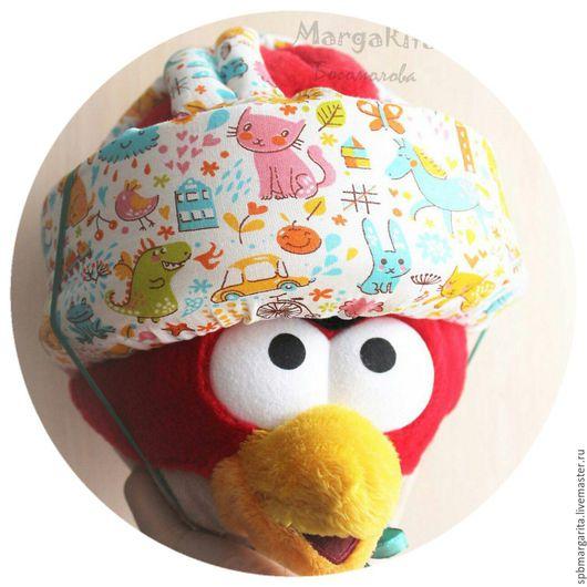 Шапки и шарфы ручной работы. Ярмарка Мастеров - ручная работа. Купить Противоударный шлем для детей. Handmade. Комбинированный, противоударный шлем