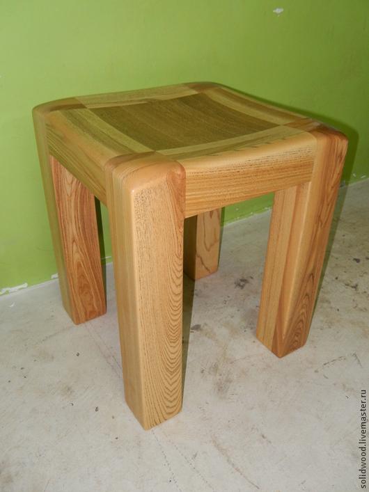 Мебель ручной работы. Ярмарка Мастеров - ручная работа. Купить Табурет. Handmade. Табурет, авторская работа, мебель для мужчин, лак