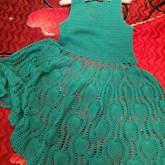 Платья ручной работы. Ярмарка Мастеров - ручная работа. Купить Платье летнее. Handmade. Вязание крючком, ручная работа