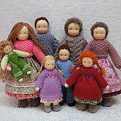 Куклы и игрушки ручной работы. Ярмарка Мастеров - ручная работа Большая семья. Handmade.