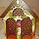 """Кухня ручной работы. Ярмарка Мастеров - ручная работа. Купить Большой двойной резной чайный домик """"Фруктовый сад"""". Handmade."""