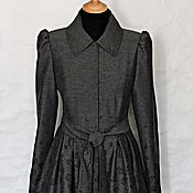 Одежда ручной работы. Ярмарка Мастеров - ручная работа Плащ-платье Мисс Апрель. Handmade.