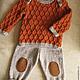 Одежда для мальчиков, ручной работы. Ярмарка Мастеров - ручная работа. Купить Детский комплект. Handmade. Рыжий, костюм для мальчика