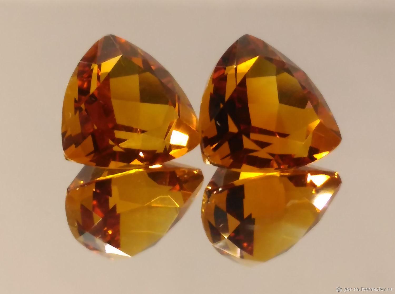 Natural citrine, 7 mm, Minerals, Yoshkar-Ola,  Фото №1