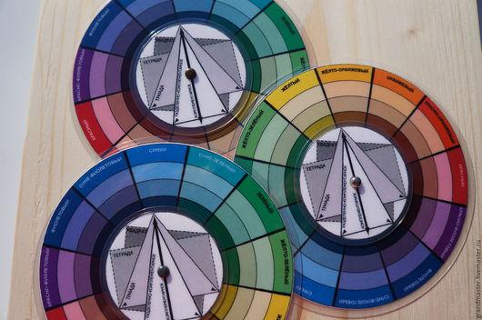 Обучающие материалы ручной работы. Ярмарка Мастеров - ручная работа. Купить Цветовой Круг. Handmade. Цветовой круг, модные тенденции