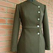 Одежда ручной работы. Ярмарка Мастеров - ручная работа Пальто с двойной складкой. Handmade.