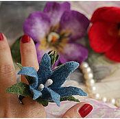 Украшения ручной работы. Ярмарка Мастеров - ручная работа Цветочные колечки. Handmade.