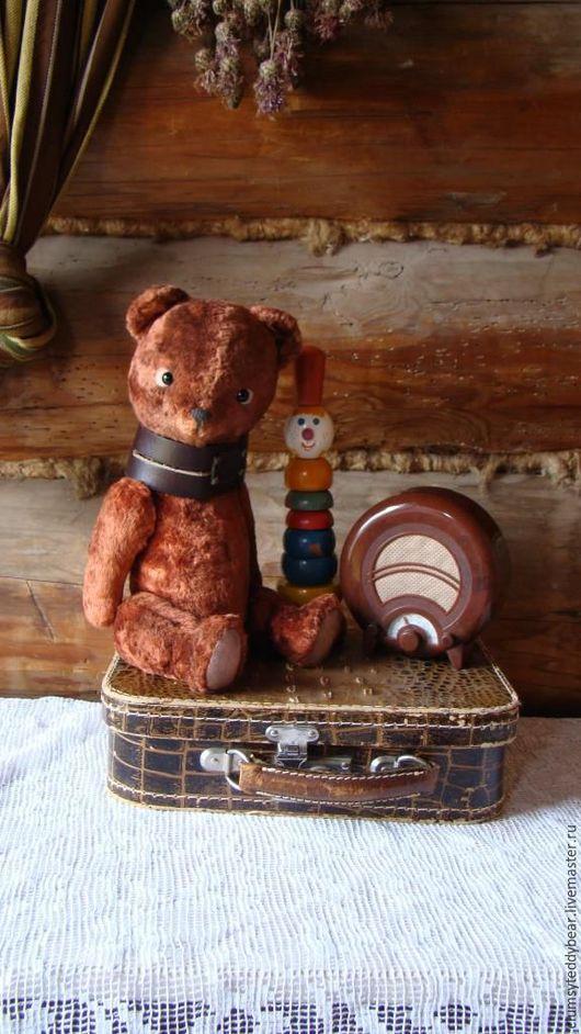 Мишки Тедди ручной работы. Ярмарка Мастеров - ручная работа. Купить Мишутка.... Handmade. Коричневый, мишка, ретро, teddy bear