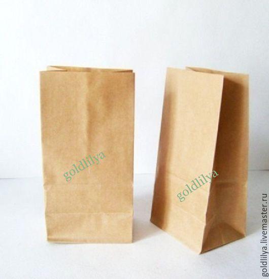 Упаковка ручной работы. Ярмарка Мастеров - ручная работа. Купить Крафт пакеты с дном, три размера (упаковка для мыла и косметики). Handmade.