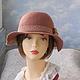 """Шляпы ручной работы. шляпка """"Бохо"""". ZIMa    (Ирина)          FeltHouse. Ярмарка Мастеров. Шляпки ручной раблоты, шляпы, кружево хлопок"""
