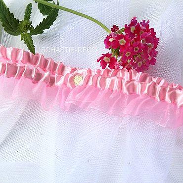 Свадебный салон ручной работы. Ярмарка Мастеров - ручная работа Подвязка невесты. Handmade.