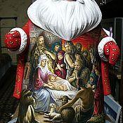 Русский стиль ручной работы. Ярмарка Мастеров - ручная работа Дед-Мороз.  Рождество.Воскрешение.. Handmade.