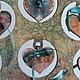 Статуэтки ручной работы. Подставка для украшений Настроение. Елена Рогачева (sirenya). Ярмарка Мастеров. Статуэтка из дерева, сердечко подвеска